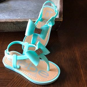Bebe toddler jelly sandals